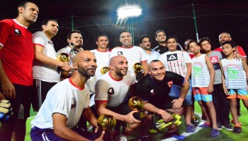 For the first time and directly on the sea shore, Marseilia beach 4 – Sidi Abd Elrahman hosts the top match between the old stars Al Ahly and Zamalek.